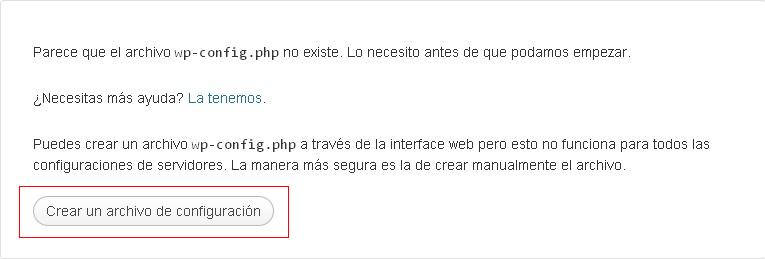 Instalando WordPress 4