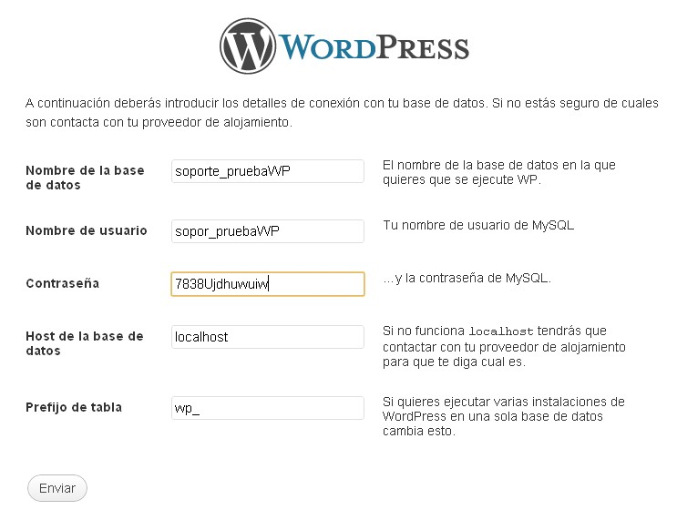 Instalando WordPress 6